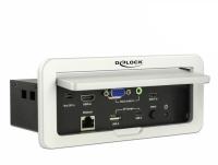 DeLOCK Multi-AV to HDMi Convertor 4k 60hz Table Mount Photo