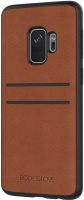 Samsung Body Glove Lux Credit Card Case for Galaxy S9 - Brown Photo