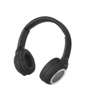 Astrum - A11530-B HT300 Headset Over Ear Leather Bluetooth Mic - Black Photo
