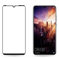 Tuff Luv Tuff-Luv 2.5D 9H 3D Curved Tempered Glass Screen Protection for Huawei P30 Pro - Clear and Black Photo