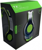 Gioteck TX-30 Multi Platform Stereo Game & Go Headset - Green Photo