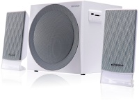 Microlab M-300BT 40 watt 2.1-Channel Bluetooth Speaker - White Photo
