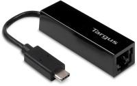 Targus USB Type-C to Gigabit Ethernet Adapter - Black Photo