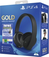 Sony PlayStation Gold 7.1 Wireless Headset Fortnite Neo Versa Bundle - Black Photo