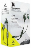 Logitech - Jaybird X4 Sport and Running Wireless Bluetooth Headphones Compatible with iOS and Android Smartphones - Storm Metallic Photo