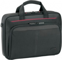 """Targus Classic 12-13.4"""" Clamshell Notebook Case - Black and Red Photo"""