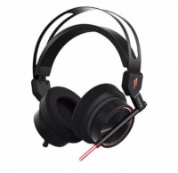 1More - Spearhead VR Over-Ear 7.1 Stereo Surround Sound Dual Mic Noise Cancellation Gaming Headset - Black Photo