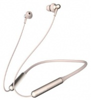 1More - Stylish Dual Driver Bluetooth In-Ear Headphones - Gold Photo