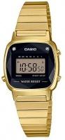 Casio Casion Ladies Retro Collection Digital Wrist Watch - Gold Photo