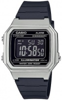 Casio Standard Collection Digital Wrist Watch - Silver and Black Photo