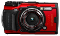 Olympus TG-6 Tough Waterproof Compact Camera - Red Photo
