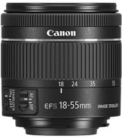 Canon EF-S 18-55 mm f4 -5.6 IS STM Lens Photo