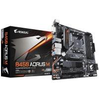 Gigabyte B450 AORUS M Socket AM4 Micro ATX AMD B450 Motherboard Photo