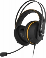 ASUS TUF Gaming H7 Core 3.5mm Over-Ear Gaming Headset - Black and Yellow Photo