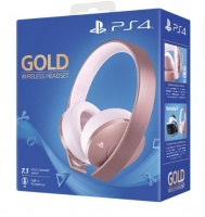 Sony PlayStation 7.1 Wireless Headset - Rose Gold Edition Photo