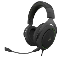 Corsair HS50 Stereo Over-Ear Gaming Headphones with Microphone Photo