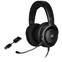 Corsair HS45 SURROUND Gaming Headset - Carbon Photo