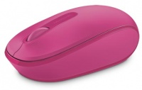 Microsoft - 1850 Wireless Mobile Mouse FREE Licenced Wonder Woman Mouse Pad - Magenta Photo