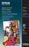 Epson Value Glossy Photo Paper A4 - 20 Sheets Photo
