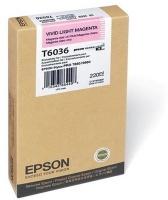 Epson Singlepack Vivid Light Magenta T603600 220ml Ink Cartridge Photo