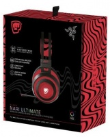 Razer - Nari Ultimate PewDiePie Edition Wireless 7.1 Surround Sound Gaming Headset THX spatial Audio Cooling Gel Infuse Photo