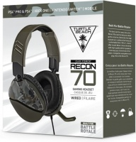 Turtle Beach - Recon 70 Ear Force Wired Gaming Headset - Blue Camo Photo