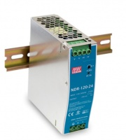 VIVOTEK /Mean Well - Industrial Power Supply; 220vac or 370vdc Input and 48vdc Output; Din Rail Photo