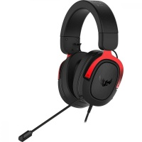 ASUS TUF Gaming H3 Headset for PC PS4 Xbox One and Nintendo Switch - 7.1 Surround Sound - Red Photo