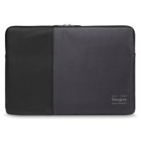"Targus Pulse 13-14"" Laptop Sleeve - Black/Ebony Photo"