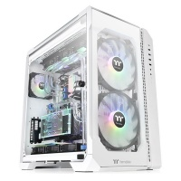 Thermaltake View 51 Tempered Glass Snow ARGB Edition Full Tower Chassis Photo