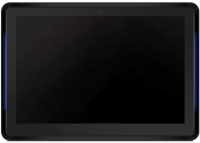 OEM - Android TOUCH AIO PC With LED Color Bar for Room Signage and Access Control - White Photo
