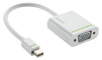 Leitz Complete Mini DisplayPort to VGA Adapter - White Photo