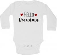 BTSN - Hello Grandma - Baby Grow L Photo