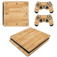 SKIN-NIT Decal Skin for PS4 Slim: Wood Photo
