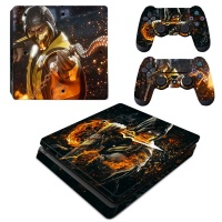 SKIN-NIT Decal Skin For PS4 Slim: Scorpion Fire Photo