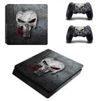 SKIN-NIT Decal Skin For PS4 Slim: The Punisher 2019 Photo
