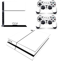 SKIN-NIT Decal Skin For PS4: White 2019 Photo