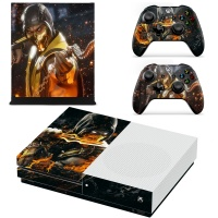 SKIN-NIT Decal Skin For Xbox One S: Scorpion Fire Photo