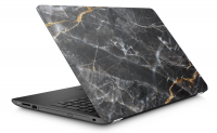 Black Laptop Skin Photo