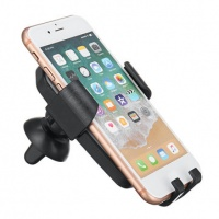 """2"""" 1 Gravity Qi Wireless Charger Led Cell Phone Car Air Vent Charging Mount Holder Photo"""