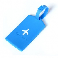 Kcasa KC-LP09 Silicone Travel Luggage Tags Colorful Silicone Suitcase Lab Photo