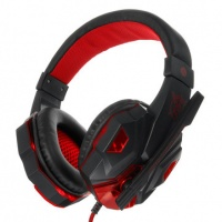 3.5mm Led Light Gaming Headset Stereo Noise Cancelling Headphone With Mic for Photo