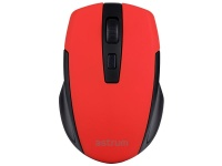Astrum 2.4Ghz Wireless Optical Mouse With Nano Receiver - Red Photo