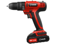 Casals Drill Impact Cordless Plastic Red 13Piece 18V Photo