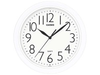 Casio White Wall Clock Photo