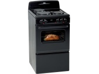 Defy Compact 3 Plate Electric Stove - Black Photo