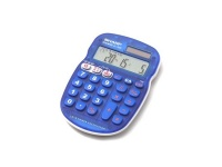 Sharp Blue Calculator Photo