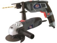 Fragram 650W Angle Grinder & 500W Drill Photo