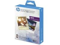 HP Social Media Adhesive Photo Paper Photo