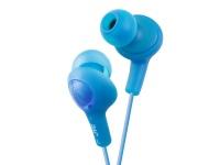 JVC HA-FX5 Gumy Range Earphones - Blue Photo